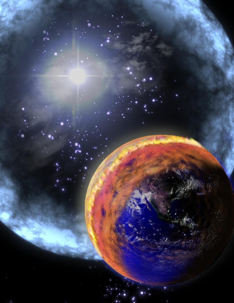 denne planeten ligner a jorda